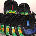 SBC Cares Backpack Give Back
