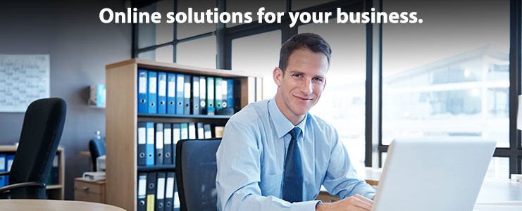 Online solutions for your business.