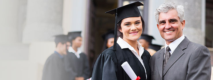 Get your Grad college-ready with CNB Checking.